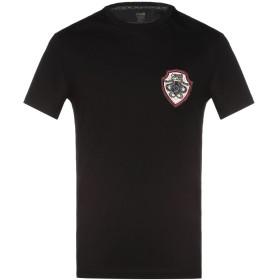 《期間限定 セール開催中》CAVALLI CLASS メンズ T シャツ ブラック S コットン 100%
