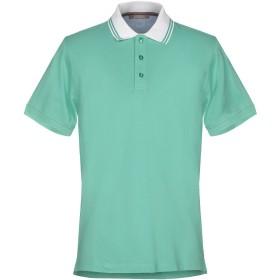 《期間限定セール開催中!》ANDREA FENZI メンズ ポロシャツ ライトグリーン 48 コットン 100%