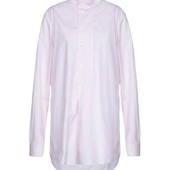 《送料無料》CEDRIC CHARLIER レディース ミニワンピース&ドレス ライトピンク M コットン 100%