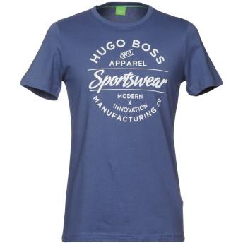 《期間限定セール開催中!》BOSS HUGO BOSS メンズ T シャツ ダークブルー S コットン 100%