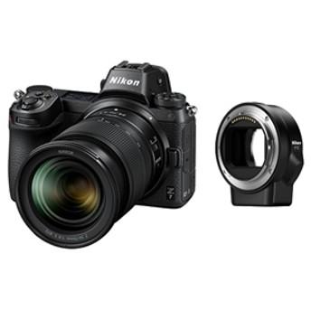 【ニコン】 小型一眼カメラ 1本レンズ+FTZマウントアダプターキット(標準ズーム) 4K Z7LK24-70FTZKIT デジタル一眼カメラ