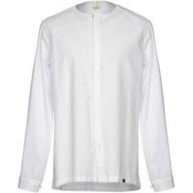 《セール開催中》BERNA メンズ シャツ ホワイト XXL 70% コットン 30% ポリエステル