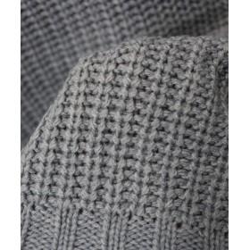 ニット・セーター - and Me 【S-5】オフタートル 片畦 ニット セーター トップス レディース タートルネック