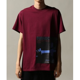 JOURNAL STANDARD LONELY/論理 NINKYOU S.O.Y T-SHIRTS レッド M