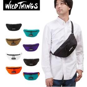 ウエストバッグ WILD THINGS ワイルドシングス  通販 ボディバッグ メンズ レディース ナイロン ショルダーバッグ 斜めがけ ななめ掛け ワンショルダー