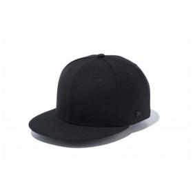 ニューエラ(NEW ERA) 9FIFTY ベーシック メタルフラッグロゴ ブラック×ブラック 11781380 (Men's)