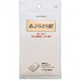 資生堂 あぶらとり紙 012 120枚入×12個※取り寄せ商品(注文確定後6-20日頂きます) 返品不可