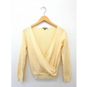 プロポーション ボディドレッシング PROPORTION BODY DRESSING ニット セーター カシュクール 長袖 無地 シンプル ウール 3