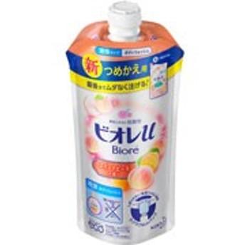 【花王 ビオレu スイートピーチの香り つめかえ用 340ml】