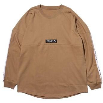 ルーカ RVCA 長袖Tシャツ テープ ルーカ ロングスリーブ (BEIGE) 18HO-I