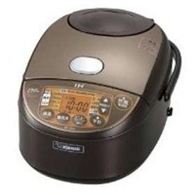 ZOJIRUSHI(象印) NP-VZ10-TA 炊飯器 極め炊き ブラウン [IH /5.5合]