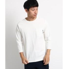 BASE STATION / ベースステーション ヘビーウェイト 7分袖 Tシャツ 【WEB限定】