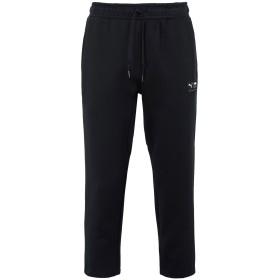 《期間限定セール開催中!》PUMA メンズ パンツ ブラック L コットン 77% / ポリエステル 23% Downtown Sweat Pants Cropped a