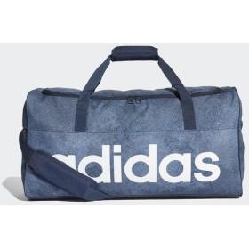(セール)adidas(アディダス)スポーツアクセサリー ボストンバッグ リニアロゴチームバッグM ENM79 DJ1422 M ロースティール S18/カレッジネイビー/ホ...