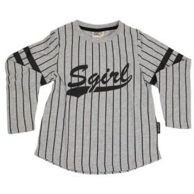 SKIPGIRL 【多少の傷汚れありの為大奉仕】ガールズ ロングTシャツ 10171004 GRY (Jr)