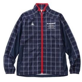 (セール)le coq sportif(ルコックスポルティフ) メンズスポーツウェア ウインドアップジャケット ウィンドジャケット QMMMJF21 NVY メンズ NVY