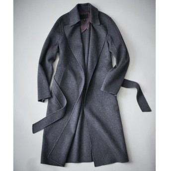 L size ONWARD(大きいサイズ) / エルサイズオンワード Wool Rever トレンチ型コート