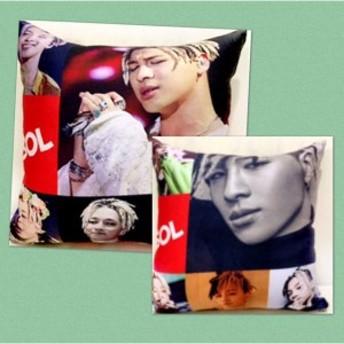 テヤン BIGBANG ビッグバン 両面 ミニ クッション 韓流 グッズ ac016-1