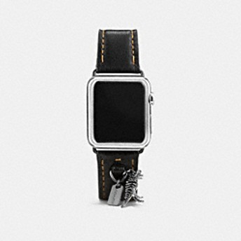 Apple Watch(R) 38MM レザー ストラップ ウィズ チャーム