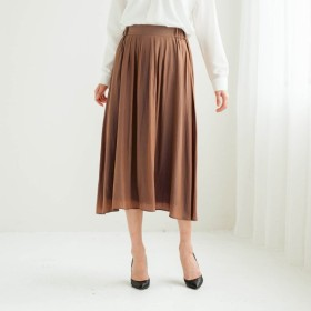 スカート レディース 40代 30代 春 スカート ロング マキシ おしゃれ きれいめ エレガント キャメル