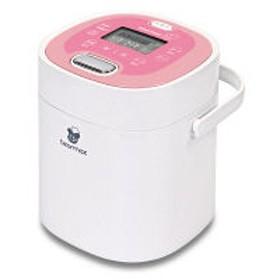 クマザキエイム 小型炊飯器 マルチ・ライスクッカー 桃 MC-106 2.5合炊き ケーキ・ヨーグルトも可能