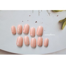 【再販×8】こだわりの輝き・桜色のシェルネイルチップ/ウェディング二次会フォーマル参列貝殻前撮り成人式和装シンプル結婚式