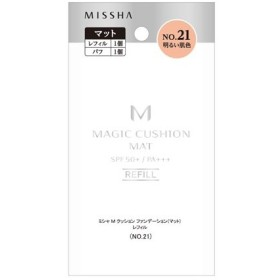 MISSHA (ミシャ)/M クッション ファンデーション(マット)(レフィル No.21 明るい肌色) ファンデーション