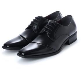メン イン ブラック Men in Black 流れチップデザイン ドレスシューズ (ブラック)
