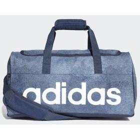 (セール)adidas(アディダス)スポーツアクセサリー ボストンバッグ リニアロゴチームバッグS ENM80 DJ1429 S ロースティール S18/カレッジネイビー/ホ...