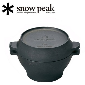 snowpeak スノーピーク コロダッチポット CS-501R 【アウトドア/キャンプ/ダッチオーブン/キッチン/調理器具】