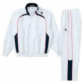 コンバース ウォームアップジャケット&パンツ上下セット ホワイト×ホワイト CB162502S-1129-CB162502P-1129