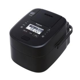 パナソニック スチーム&可変圧力IHジャー炊飯器 SR-SSX108 ブラック ホワイト SR-VSX108同等モデル