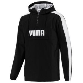 (セール)PUMA(プーマ)メンズスポーツウェア ジャケット RETRO ハーフジップウーブンジャケット 57752501 メンズ プーマ ブラック