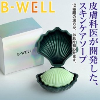 洗顔石鹸 ビーウェル B-WELL スキンケアソープ KQ00100 1909 送料無 アトピー