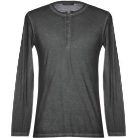 《期間限定セール開催中!》WOOL & CO メンズ T シャツ スチールグレー XL 100% コットン