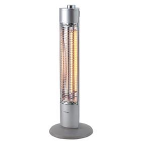 コイズミ 電気ストーブ カーボンヒーター グラファイトヒーター シルバー 2018暖房 KKS0984S||