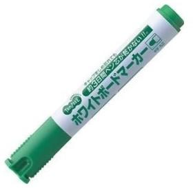 TANOSEE ホワイトボードマーカー ノンドライタイプ 中字・丸芯 緑(TS-NDWBM-G)