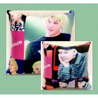 G-DRAGON ジードラゴン BIGBANG ビッグバン 両面 ミニ クッション 韓流 グッズ ac014-1