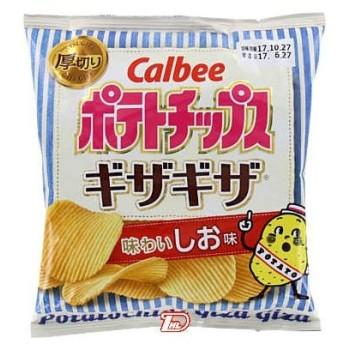 ポテトチップスギザギザ 味わいしお味 カルビー 60g