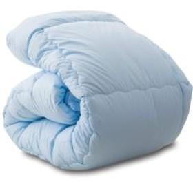 送料無料 掛け布団 シングルサイズ ブルー 日本製 洗える布団シリーズ 掛布団 掛けふとん 掛けぶとん かけふとん かけぶとん ウォッシャブル 東レft使用 あったか 丸洗いOK
