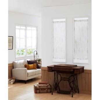 シルエットネコ柄。小窓用カフェカーテン のれん・カフェカーテン
