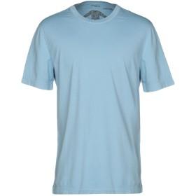 《セール開催中》MALO メンズ T シャツ スカイブルー 50 100% コットン