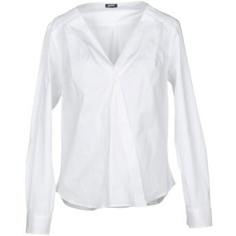 《セール開催中》JIL SANDER NAVY レディース シャツ ホワイト 34 コットン 97% / ポリウレタン 3%