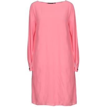 《セール開催中》LOVE MOSCHINO レディース ミニワンピース&ドレス ピンク 40 65% アセテート 35% シルク