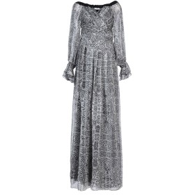 《期間限定セール中》RELISH レディース ロングワンピース&ドレス ブラック XS ポリエステル 100%