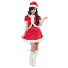 クリスマス サンタ コスプレ 衣装 コスチューム ブレードコルセットサンタ レディース パーティー イベント クリアストーン