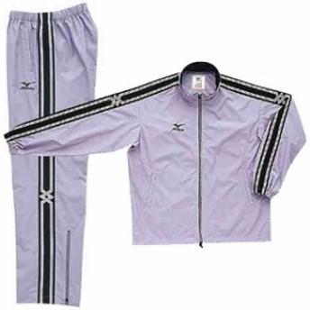 ミズノ ウインドブレーカーシャツ&パンツ 上下セット グレー×グレー MIZUNO A60WS830-05-A60WP830-05