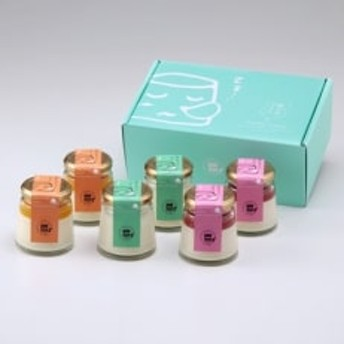 眠らせプリン3種×各2個(ぷれーん・あまおう・まんごー)