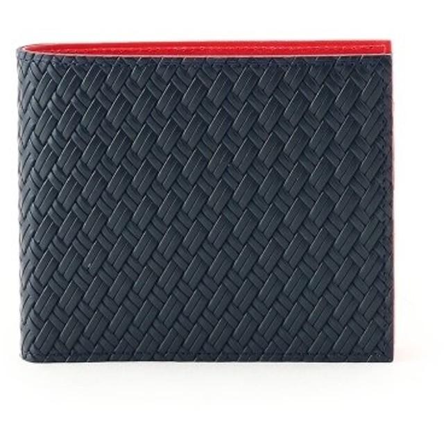 タケオキクチ マルチカラー2つ折り財布 [ 財布 二つ折り カラフル ] メンズ ワインレッド(563) 00 【TAKEO KIKUCHI】