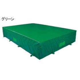 中津テント エバーマット  屋外用 防菌 防臭ウレタンマット 屋内外兼用グリーン  HS-650